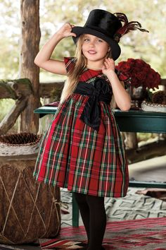 """"""" RL Girl: Holiday Dressing """" Dressed up party looks in traditional holiday prints for the RL Girl Shop Now"""