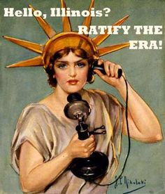 LATEST ACTION on the Equal Rights Amendment in Illinois (as many of you know it's already passed the Senate and is now in the House)  Rep. Robert Rita is a YES. Now at 64. And Ed Sullivan in Mundelein has just moved from NO to MAYBE...He voted 'yes' for ERA in 2003.   Here is latest call link: http://bit.ly/ratifyERA  #RatifyERA #Rally4Equality2014 #YesAllWomen