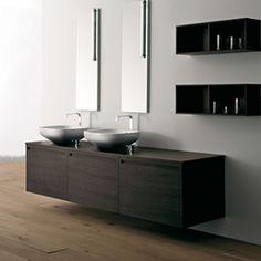 Wash basins-Wall cabinets-Wash basins-Materia Collection-antoniolupi
