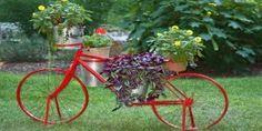 Como hacer un jardín con materiales reciclados