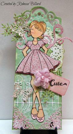Loves Rubberstamps Sensational Sunday Blog Hop Prima Doll Candie,