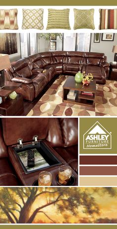 Cupholders! #livingroom Elemen 6 Piece Sectional - Ashley Furniture HomeStore