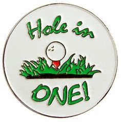 UK Golf Gear - Hole In One Golf Hat Clip & Ball Marker