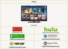 Smart TV and Streaming Service Credits Giveaway - Giveaway Archive - Free Online Giveaways