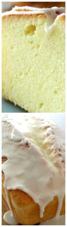 Meyer Lemon Pound Cake ~ Amazing looking and uber delicious.