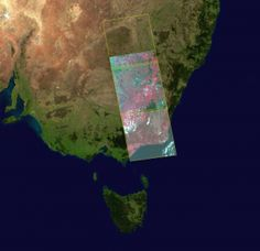 Multispectral data, acquired by over New South Wales in Australia. All Band, South Wales, 3 Things, Constellations, Lava Lamp, Australia, Image, Star Constellations