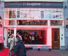 Bugaboo Store opening in Amsterdam