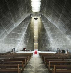 St. Mary's Cathedral, San Francisco, California by Pier Luigi Nervi (1971)