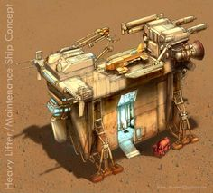 Heavy Lifter Concept by MikeDoscher  Heavy Lifter Concept i©2005-2015 MikeDoscher via deviantART