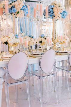 Pastel Renaissance Wedding Theme | ElegantWedding.ca Table Setting Inspiration, Renaissance Wedding, Wedding Place Settings, Real Couples, Wedding Receptions, Wedding Centerpieces, Wedding Styles, Pastel, Table Decorations