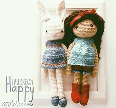 Amigurumi, crochet doll