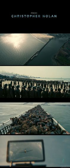 Dunkirk 2017 Director: Christopher Nolan Cinematography: Hoyte van Hoytema #FilmmakingTricks