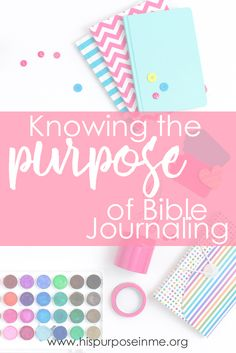 When I started practicing bible journaling I did not even know how to start. I felt a bit weird when using my bible to color, draw and paint. Maybe you're going through the same thing. Howeve…
