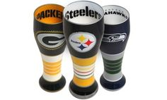 Groupon - NFL Hand-Painted Artisan Pilsner Glass (23 Fl. Oz.) in [missing {{location}} value]. Groupon deal price: $24.99 - Need 2