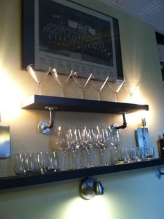 Cool Shelves You Can Make With Stuff From the Garage