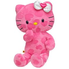 Build-a-bear Pink Hearts Hello Kitty Unstuffed Plush Animal Sanrio Sanrio Hello Kitty, Stuffed Animal Cat, Stuffed Animals, Stuffed Toys, Build A Bear, Cute Little Things, Monster High Dolls, Kids Corner, Plush Animals