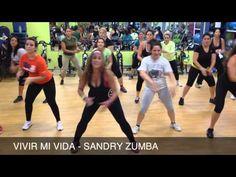 Baile Vivir Mi Vida de Marc Anthony paso a paso. Baileactivo - YouTube