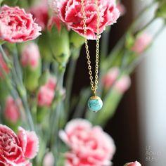 Necklaces – Little Turquoise Necklace – a unique product by lebohobleu via en.DaWanda.com