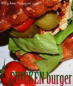 burger-eng1 Dukan Diet Recipes, Cooking Recipes, Hamburger, Appetizers, Chicken, Bobs, Ethnic Recipes, Desserts, Dukan Diet