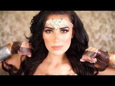 Wonder Woman 2017 | Gal Gadot | Cosplay | Costume & Makeup | Victoria Lyn Beauty - YouTube