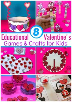 Are you looking for fun Valentine& Worksheets and Centers for Preschool? You& love this mix of hands-on activities and no-prep printable worksheets. Valentines Games, Valentine Theme, Valentines Day Activities, Valentine Day Crafts, Be My Valentine, Holiday Crafts, Valentine Ideas, Holiday Ideas, Kindergarten Crafts