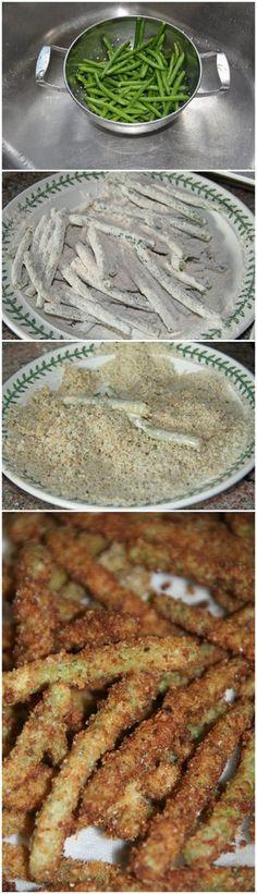 Green Bean Crisps   Bake a Bite