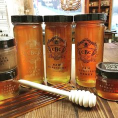 Another new product in the shop. Beautiful and yummy raw honey by Capital Bee Company.  Also a great gift item for the holidays. #gifts #christmas #honey #rawhoney #hostessgift #roanoke #virginia  #shopsmall