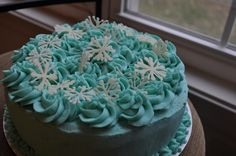 ... about Winter cakes on Pinterest | Snowflakes, Winter Cakes and Egg Nog