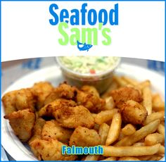 Since 1974 Seafood Sam's has been serving families. And now - with their menu expanded to over 100 items, friendly value pricing, large helpings, freshest ingredients and beautiful locations - they offer even more of what you want. Bring the whole family and enjoy our award-winning Cape Cod fare!