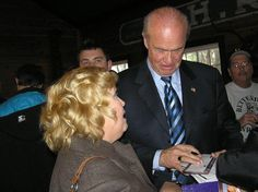 Connie Corcoran Wilson and Fred Thompson