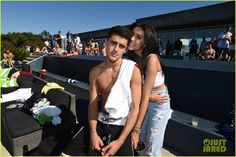 Jack & Jack Go Shirtless at Just Jared & Uno's Summer Bash with Madison Beer two days ago! #MadisonBeer (August 13th, 2016)