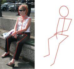 Skeleton on Photo