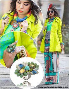Ten pierścionek wybrała do swojej stylizacji Tamara, autorka blogu Macademian Girl #bydziubeka #jewelry