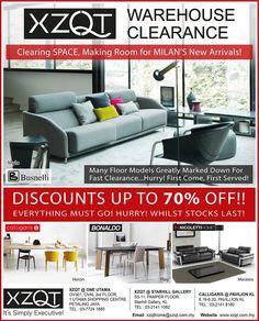 22-30 Apr 2016: XZQT Warehouse Clearance SALE