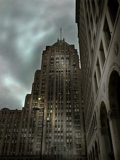 The Fisher Building. My favorite building in Detroit!
