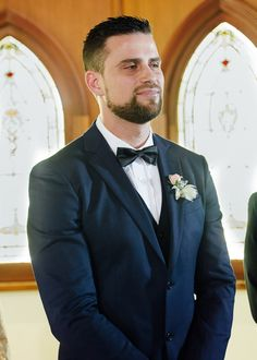 groom waiting for bride #wedding #weddingphotography #melbourne