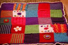 baby's texture blanket