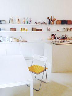 minimal kitchen / #airbnb