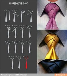How to tie a tie. For the boy some day.