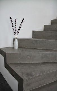 Beton Cire Treppe++Betontreppe beschichten