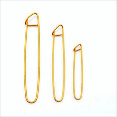 10Pcs Golden Aluminium Fin Double Crochet aiguille à tricoter Set Weave Craft