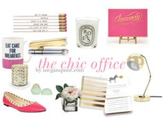 chic office decor {cute working girl must-haves}