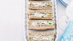 Chicken and almond ribbon sandwiches http://www.homelife.com.au/recipe/chicken+and+almond+ribbon+sandwiches,3766