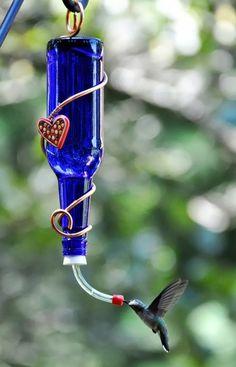 bebedero para colibrí- néctar