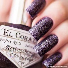 """El Corazon Active Bio-Gel """"Large Hologram"""" #423/505 Galaxy, #423/507 Nymph, #423/502 Ocean, #423/501 Kryptonite — Отзывы о косметике — Косметиста"""