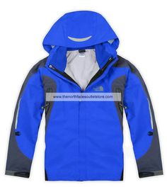 The North Face Women North Face Denali Gore Tex Pro Jackets(Blue)