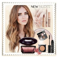 """""""Beauty look"""" by ilona-828 ❤ liked on Polyvore featuring beauty, Chanel, NARS Cosmetics, Lancôme and newnudes"""