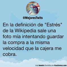"""La definición de """"Estrés"""" de la Wikipedia"""