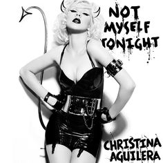 Christina Aguilera - Not Myself Tonight (Single) Christina Aguilera Bionic, Christina Aguilera Songs, Charlie Mcdermott, Reno 911, Phoebe Buffay, Steve Carell, Paul Rudd, Dean Y Cas, Mtv
