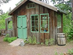 I want a potting shed like this